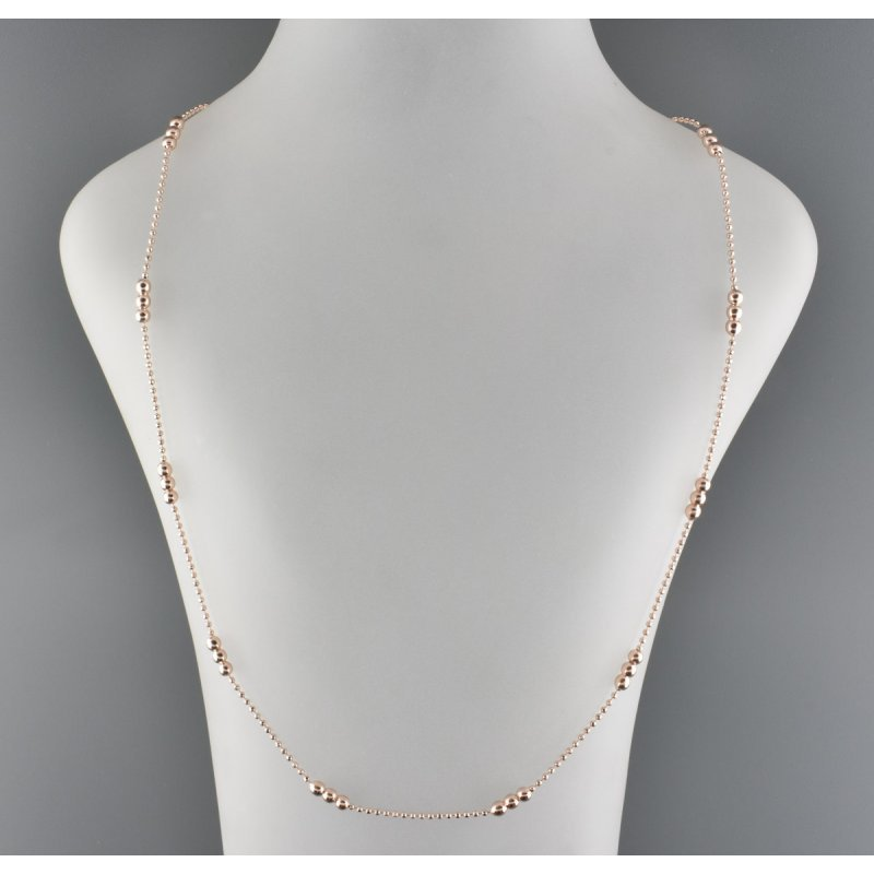 CHAIN J3009 ROSE GOLD